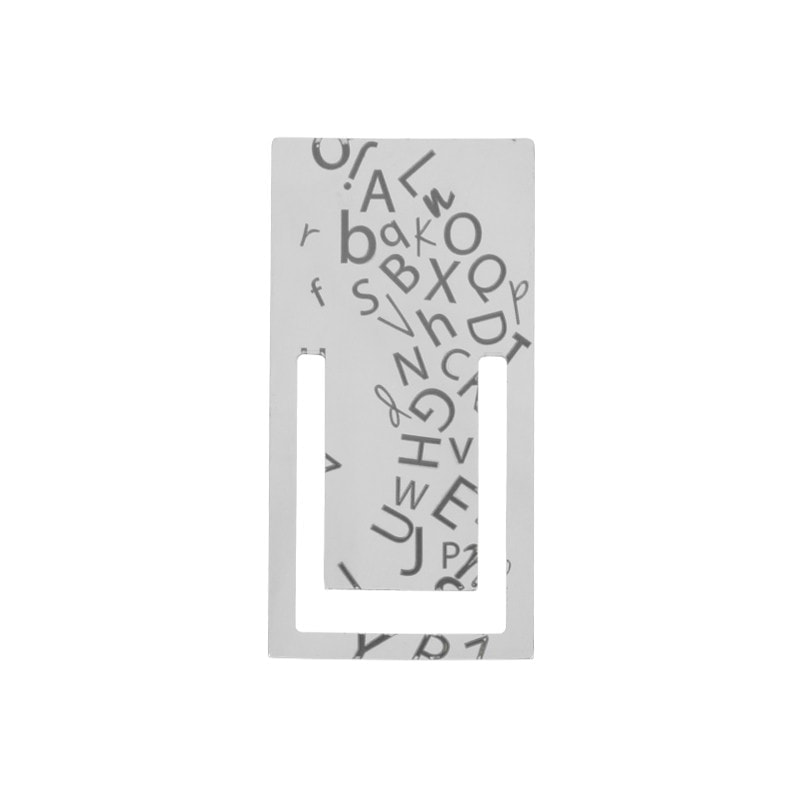 MARCAPÁGINAS DE ACERO (38*76mm)